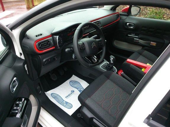 Mandataire auto Beauvais Picardie Haut de France Citroen C3 Shine Puretech Hdi
