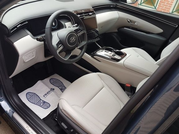 Mandataire auto Beauvais Haut De France Hyundai Tucson Shine Executive 1.6 TGDI 230cv Hybrid Cuir Greige