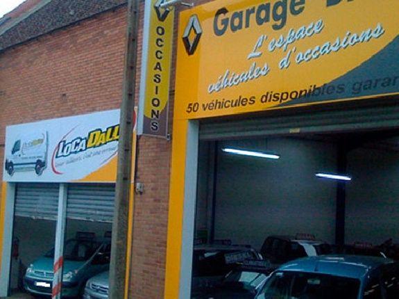 Garage dalle Locadalle Roncq et Tourcoing