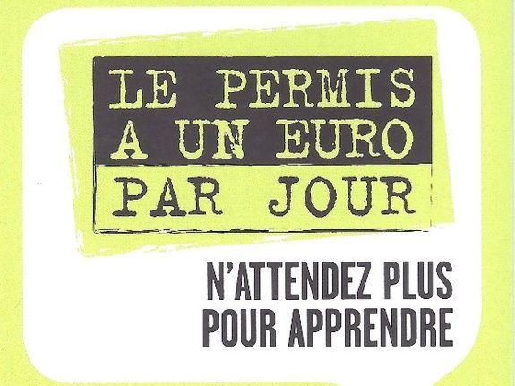 Le Permis à 1 EURO