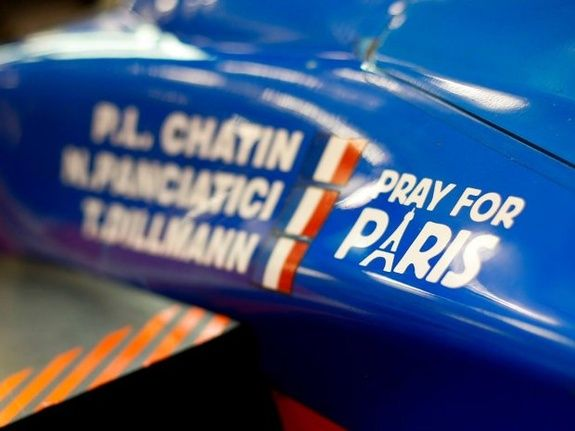 Auto Challenge Nelson Panciatici WEC Alpine Signature LMP2 Pray for Paris