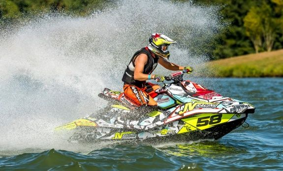 JVRACING BRP CAN-AM SEADOO MONTPELLIER courses Spark kit deco brp jetski yamaha