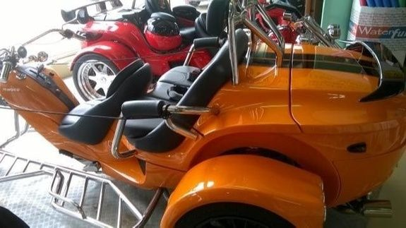 Trike rewaco orange