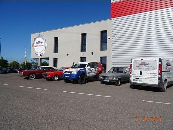 MECA PASSIONS - Ormes - Garage automobile