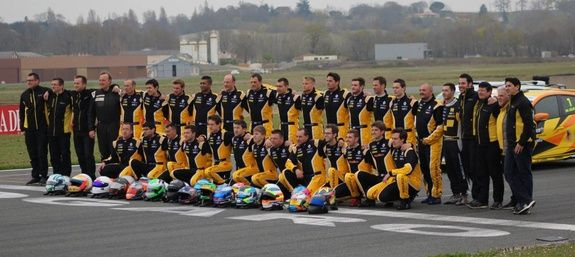 Auto Challenge Complétion Renault Sport La Ciotat Clio Cup