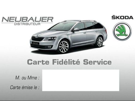 Carte Fidélité Service
